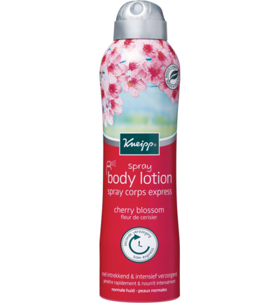 Cherry blossom body lotion spray
