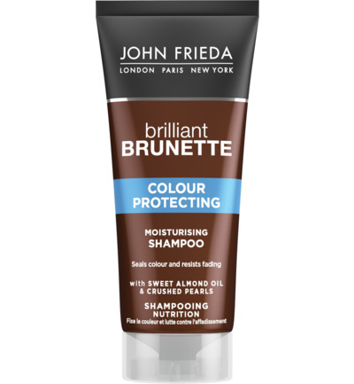 Brilliant brunette shampoo moisturizing