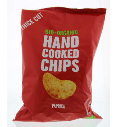 Chips handcooked paprika