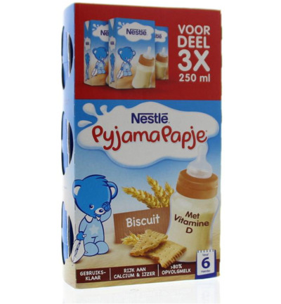 Pyjamapapje biscuit 250 ml