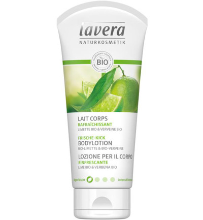 Bodylotion/body lotion refreshing lime & verb F-D