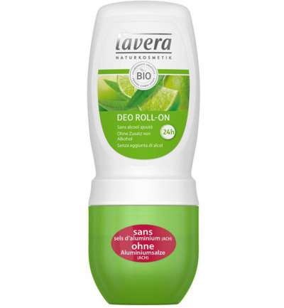 Deodorant roll-on lime and verbena F-D