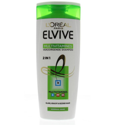 Elvive shampoo multivitamines 2 in 1