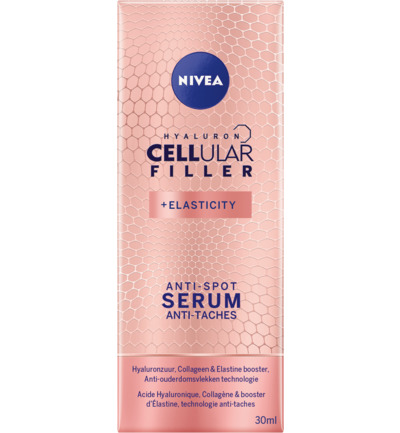 Cellular anti spot serum hyaluron & elasticity