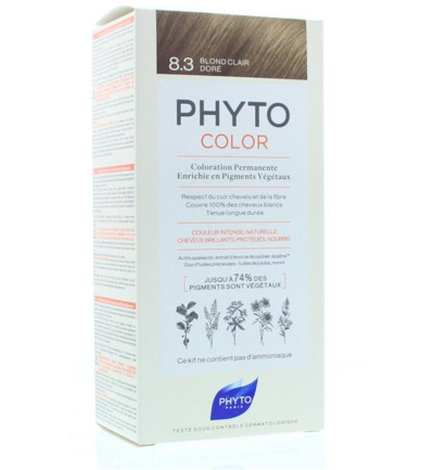 Phytocolor blond clair dore 8.3