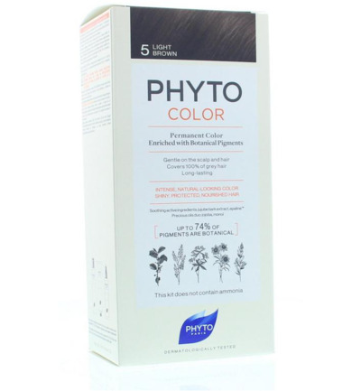 Phytocolor chatain clair 5