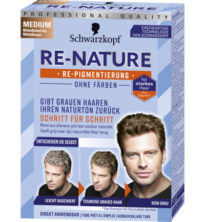Re-Nature Man midden Blond midden Bruin haarverf