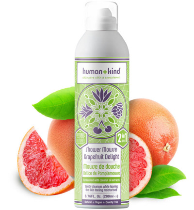 Foam shower grapefruit delight vegan