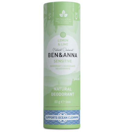 Deodorant lemon & lime sensitive