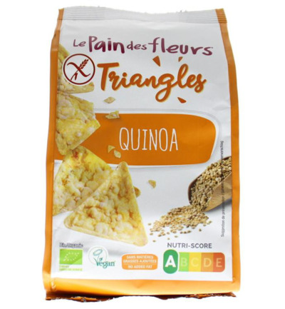 Triangles quinoa bio