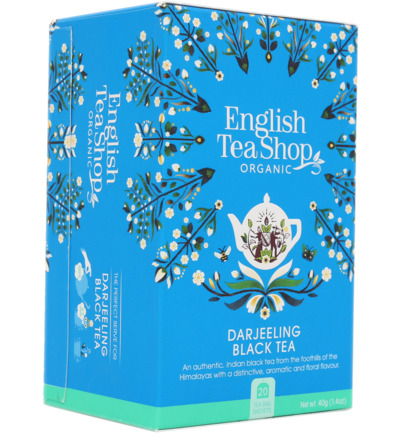 English Tea Shop Darjeeling black tea 20 Zakjes