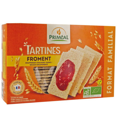 Tarwe crackers bio