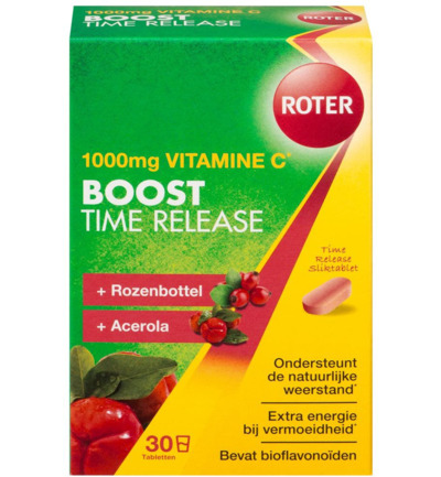 Vitamine C 1000 mg Pro boost time released