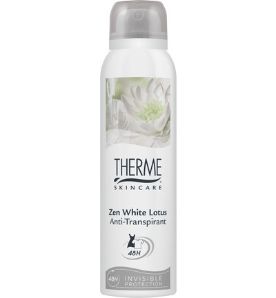 Zen white lotus anti transpirant extra dry spray