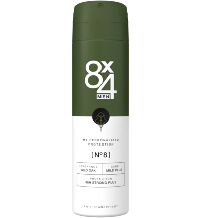 Deodorant spray No 8 male anti perpsirant