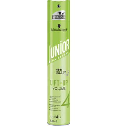 Hairspray lift up volume
