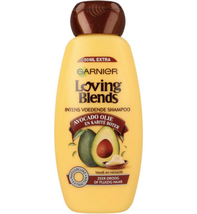 Loving blends shampoo avocado karite