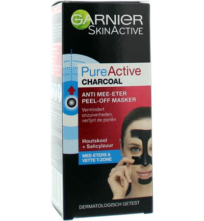 Skin active pure active charcoal peel off