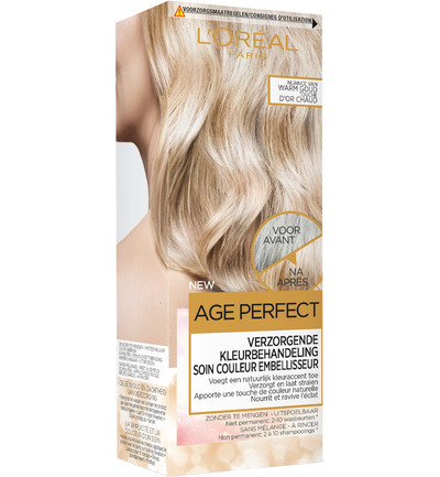 Excellence age perfect 3 warm gold