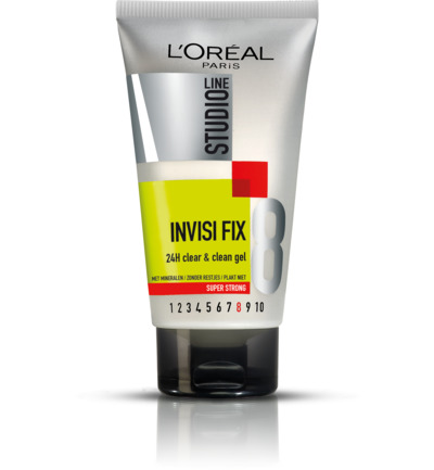 InvisiFix - 24h Clear & Clean Gel - Super Strong nr.8