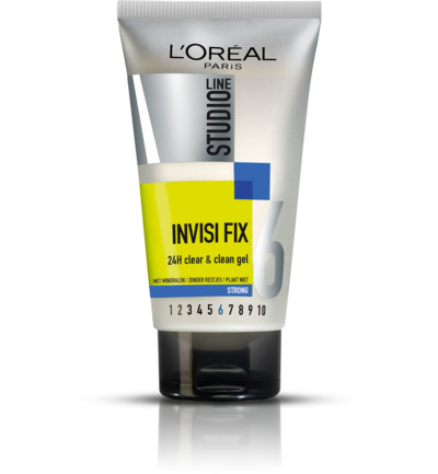 InvisiFix - 24h Clear & Clean Gel - Strong nr.6