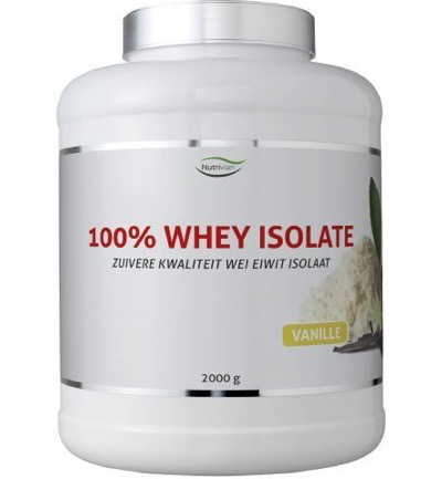 100% Whey isolate stevia vanille