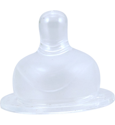 Silicone speen brede fles maat S