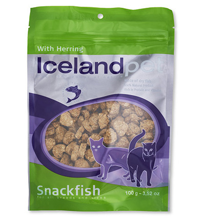 Cat treat herring