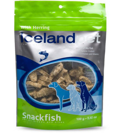Dog treat herring