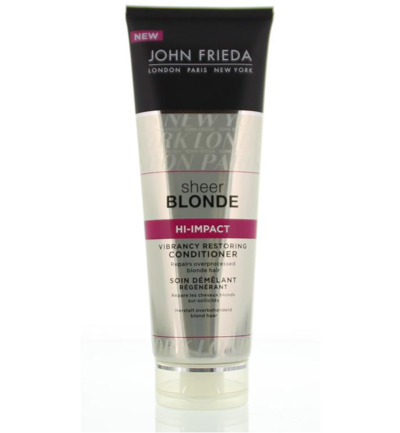 Sheer blonde hi-impact restoring conditioner