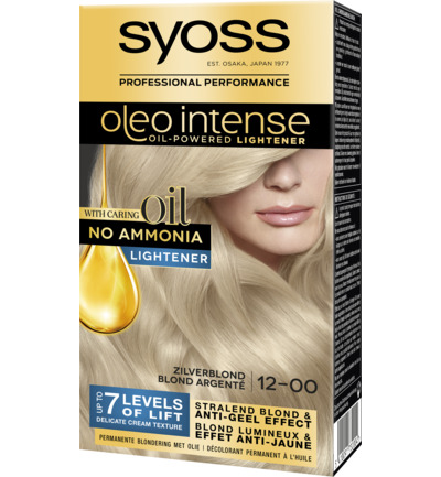 Oleo Intense 12-00 Zilverblond Lightener Haarverf