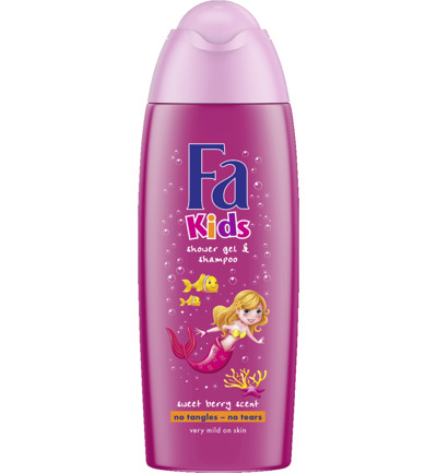 Showergel kids mermaid