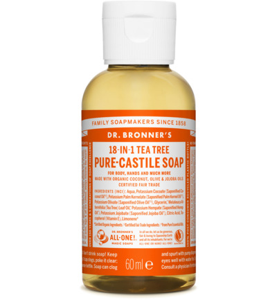 Liquid soap tea tree