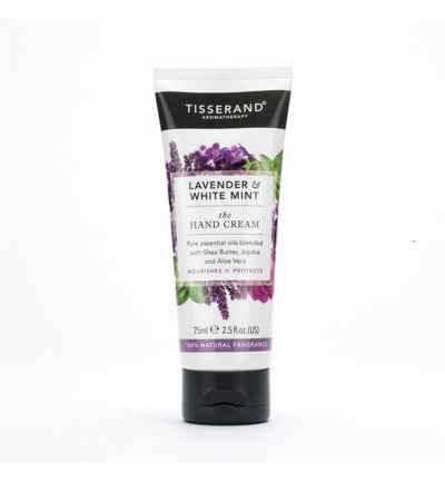 Handcream lavender & white mint