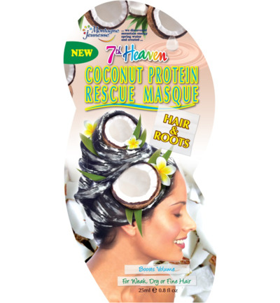 7th Heaven haarmasker rescue coconut protein