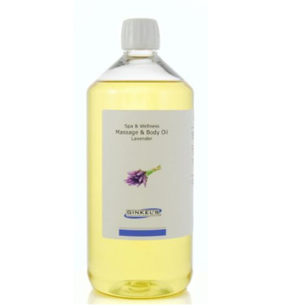 Massage & body oil lavender