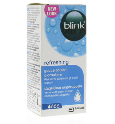 Refreshing eye drops/oogdruppels