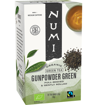 Green tea heaven gunpowder