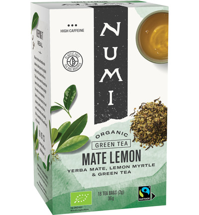 Green tea rainforest mate lemon