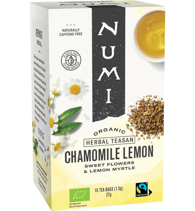 Kruidenthee chamomile lemon