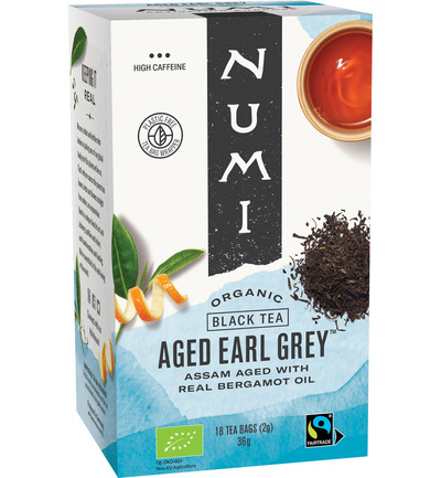 Zwart thee earl grey bergamot assorti