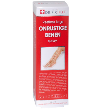 Onrustige benen spray