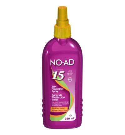 Zonnebrand spray factor 15