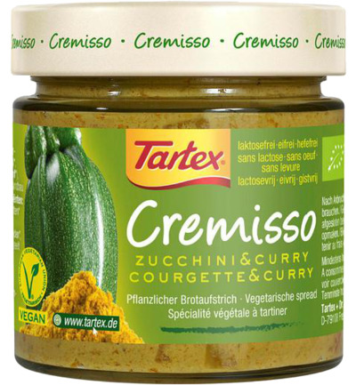 Cremisso courgetty curry bio