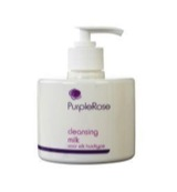 Purple rose cleansing milk