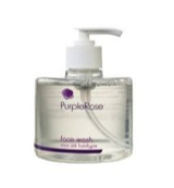 Purple rose face wash