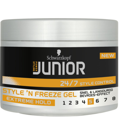Level 5 - Style 'N Freeze Gel