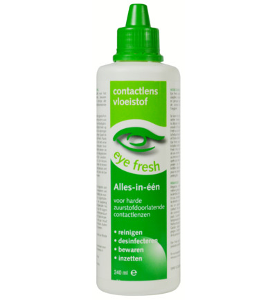 Eyefresh Lenzenvloeistof Alles In 1 Harde Lenzen 240ml