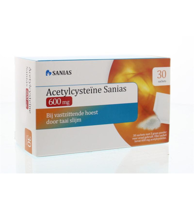 Acetylcysteine 600 mg sachets