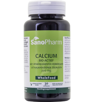 Calcium 200 mg wholefood
